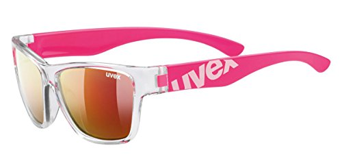 Uvex Sportsonnenbrille Sportstyle Kinderbrille 508, Clear Pink, One Size, 5338959316