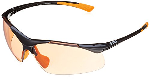 Uvex Erwachsene Sportstyle 223 Eyewear, Black Orange, One Size