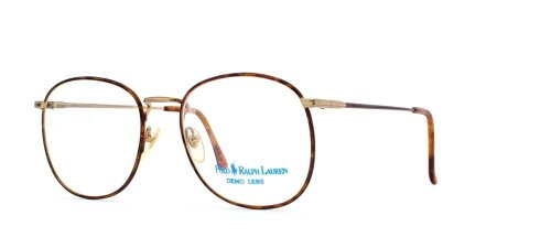 Ralph Lauren Herren Brillengestell Braun Brown Gold