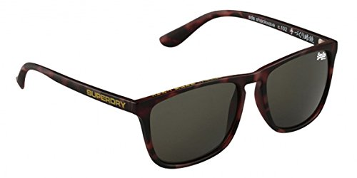 Superdry Shockwave 102 Dark Havana Matte Green