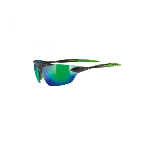 Uvex Sportsonnenbrille Sportstyle 203, Black Mat, One Size, 5305242215