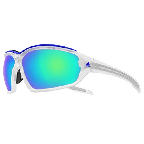 Adidas Eyewear Evil Eye Evo Pro L, Farbe Crystal Matt, Größe Blue Mirror/CAT3