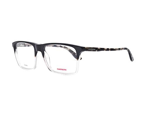 Carrera – CA 6637/N, Rechteckig, Acetat, Herrenbrillen, BLACK SHADED GREY HAVANA(TKG), 54/17/145