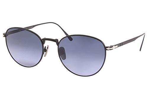 Sonnenbrillen Persol PO 5002ST MATTE BLACK/BLUE SHADED 51/19/145 Herren