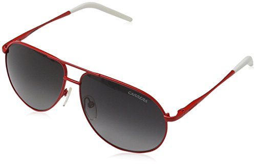 Carrera Unisex – Kinder CHILD CARRERINO 11 Aviator Sonnenbrille, Gr. One Size, Rot